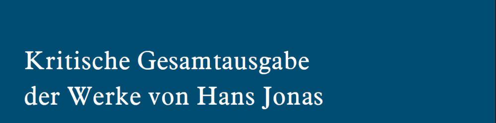 Hans Jonas KGA Online